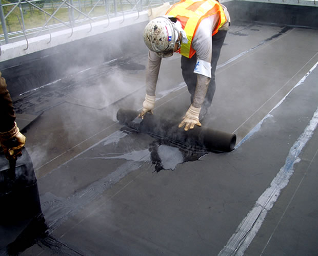 アスファルト防水(熱工法) 工法詳細画像