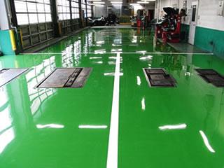 塗り床工事 工法画像